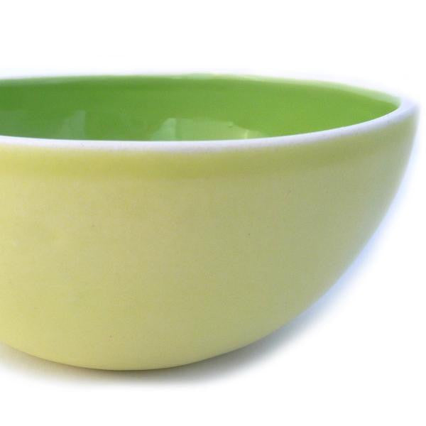 Honeydew Melon-Sculpted Bowl