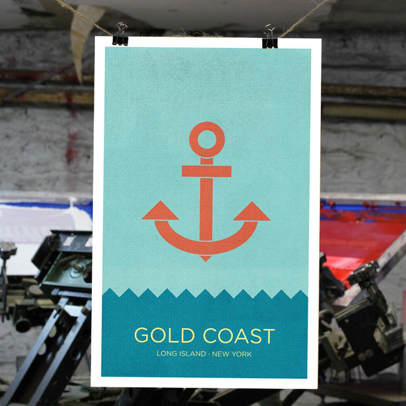 Gold Coast, Long Island Print