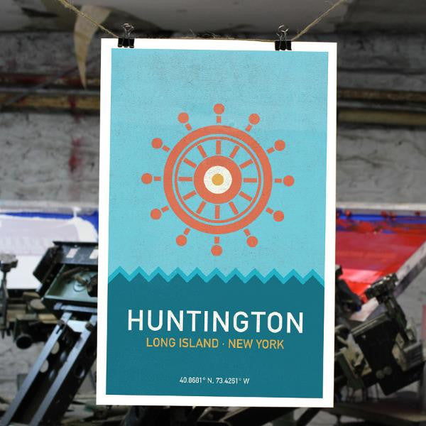 Huntington, Long Island Print