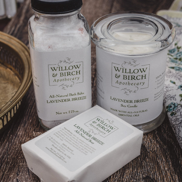 Spa Collection Gift Set - Willow & Birch Apothecary - New York Makers