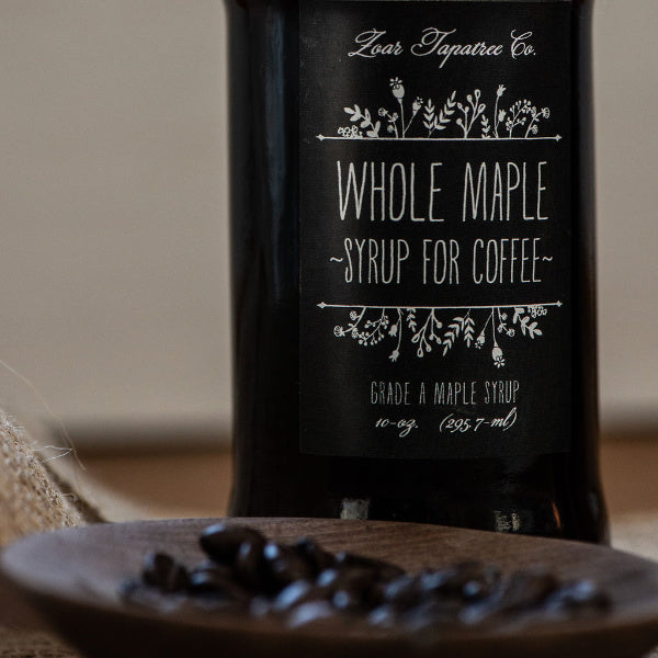 Whole Maple Syrup for Coffee - Zoar Tapatree - New York Makers
