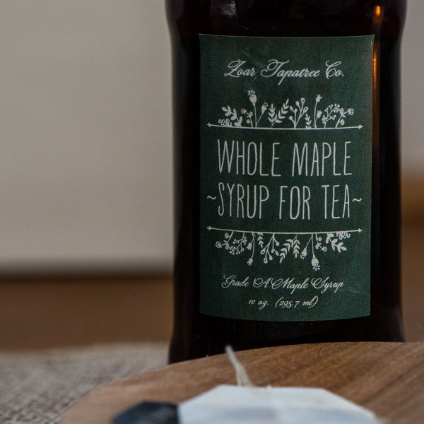 Whole Maple Syrup for Tea - Zoar Tapatree - New York Makers