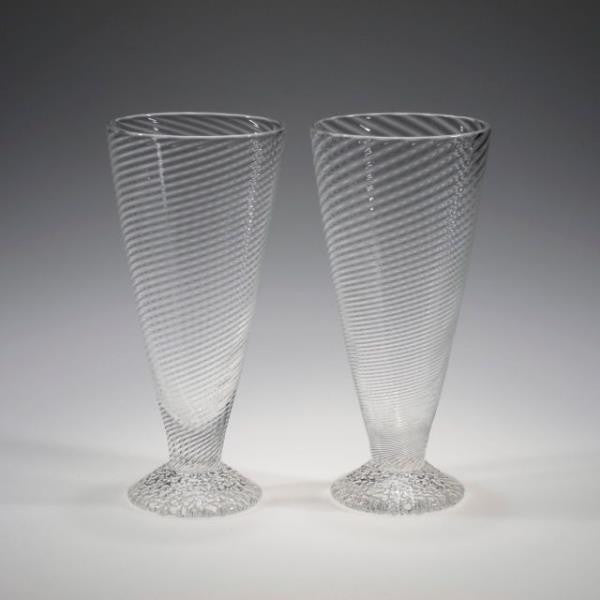 Handblown Wine Glasses - Tom Stoenner Glass - New York Makers