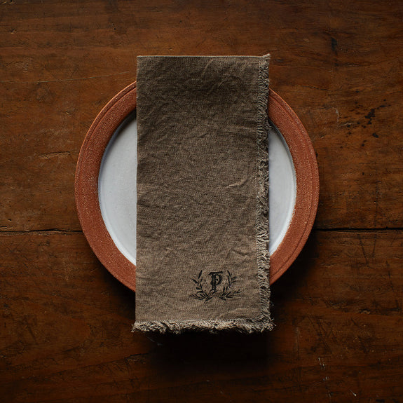 Black Walnut Dinner Napkins - The Farmhouse Project - New York Makers
