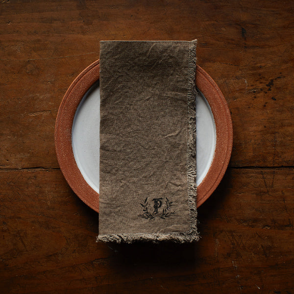 Black Walnut Dinner Napkins