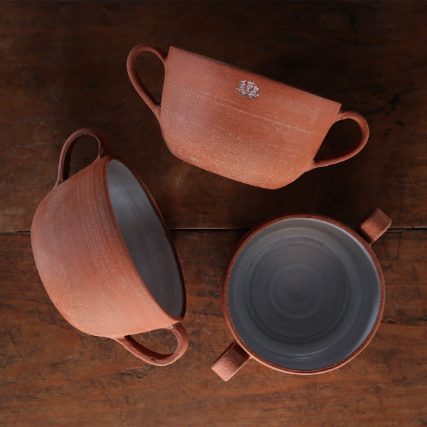 Terracotta Soup Bowls - The Farmhouse Project - New York Makers