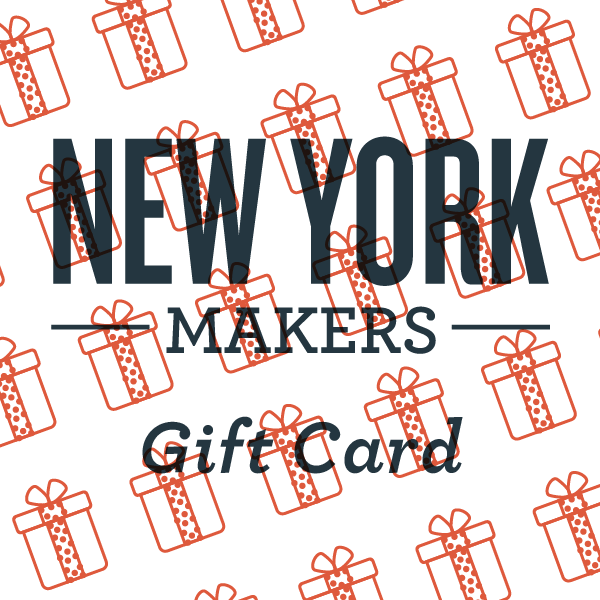 New York Makers Gift Card - New York Makers - New York Makers