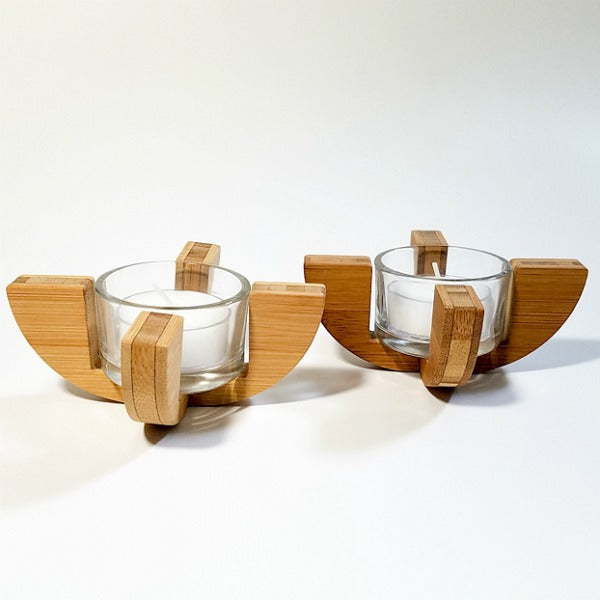 Half Moon Single Tea Light Holder