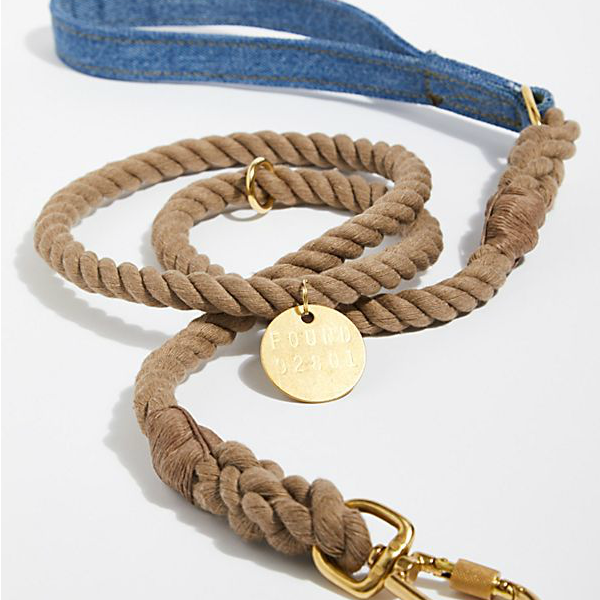 Happy Camper Denim Dog Leash