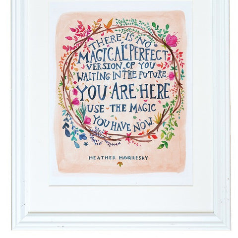 "Heather Havrilesky ""You Are Here"" Art Print"