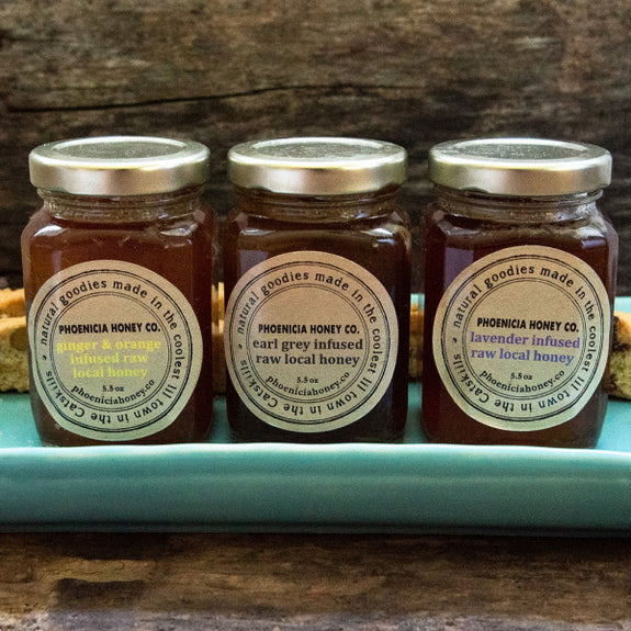Infused Honey Gift Box - Phoenicia Honey Co. - New York Makers