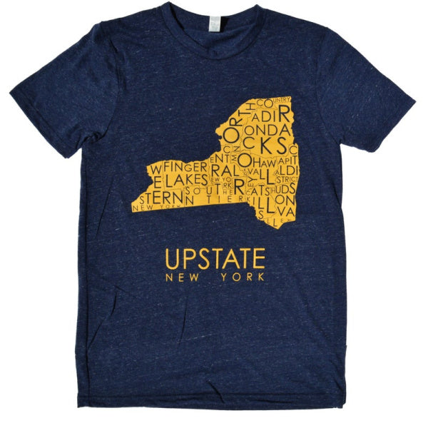 Upstate New York Tee - MW Neighborhoods - New York Makers