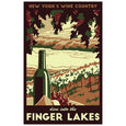 Finger Lakes Print - Lionheart Graphics - New York Makers
