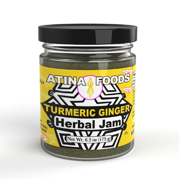 Turmeric Ginger Herbal Jam - Atina Foods - New York Makers