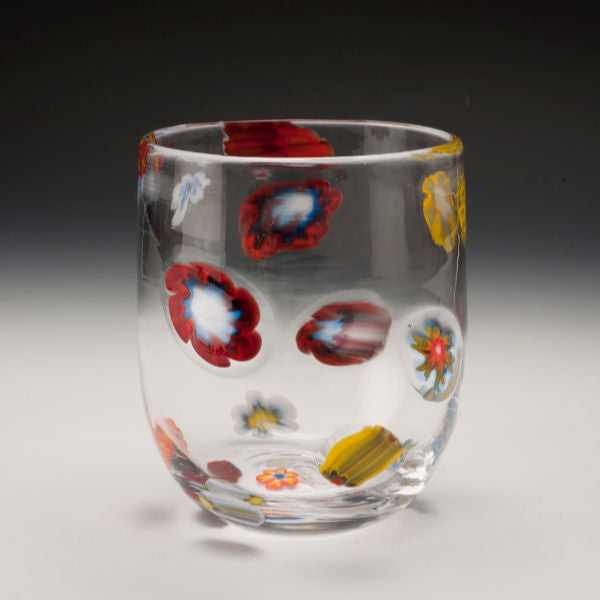 Ladies' Garden Handblown Drinking Glasses - Bobby Sharp Glassworks - New York Makers