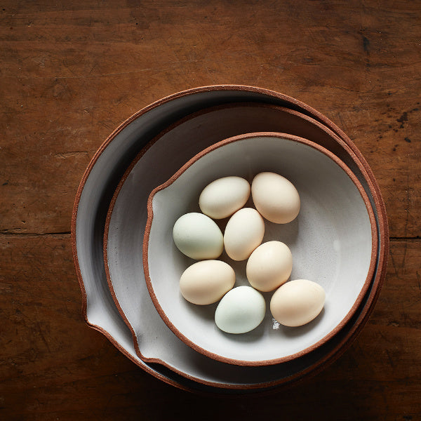Terracotta Mixing Bowls - The Farmhouse Project - New York Makers