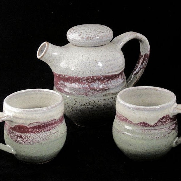 Coffee & Tea Set in Multiple Colors - Adirondack Rockware - New York Makers