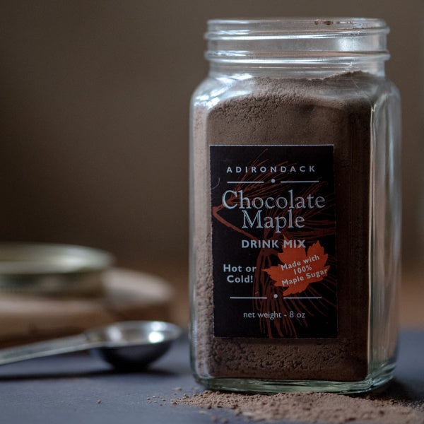 Chocolate Maple Drink Mix - Adirondack Fragrance & Flavor Farm - New York Makers