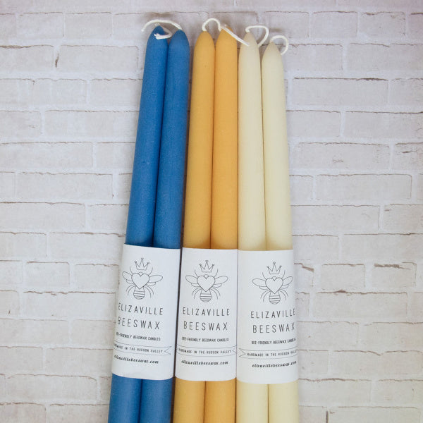 Pure Beeswax Tapers