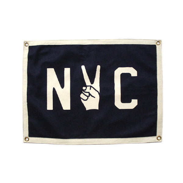 NYC Camp Flag - Oxford Pennant - New York Makers