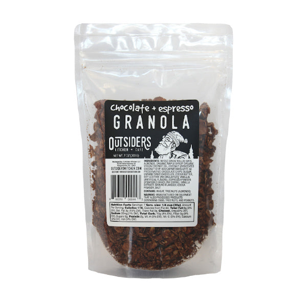 Chocolate + Espresso Granola - Outsiders Kitchen - New York Makers