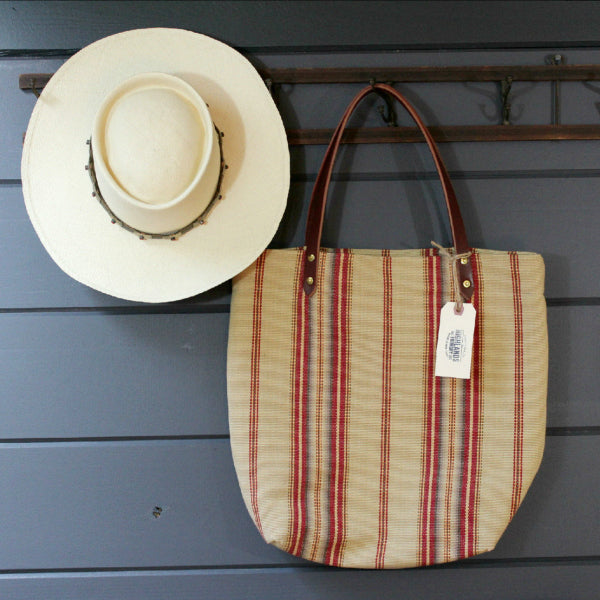 Santa Fe Stripe Tote - The Highlands Foundry - New York Makers