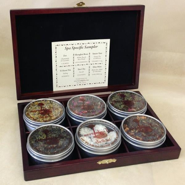 Spa Specific Tea Sampler Box & Infuser