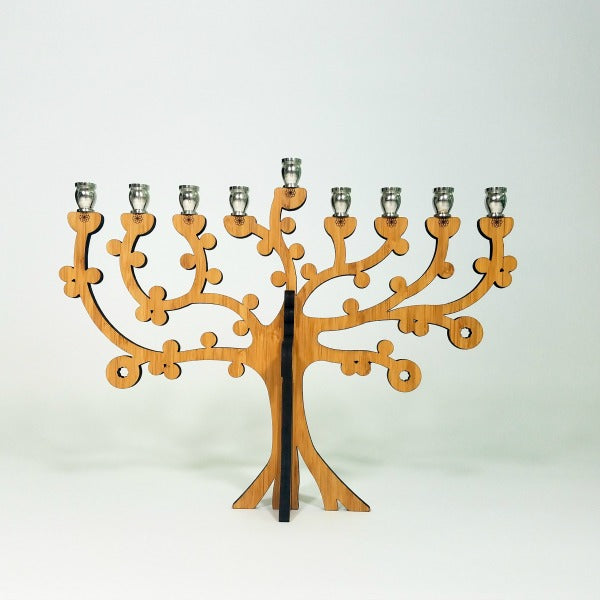 Tree Of Life Menorah - GioGio Design - New York Makers