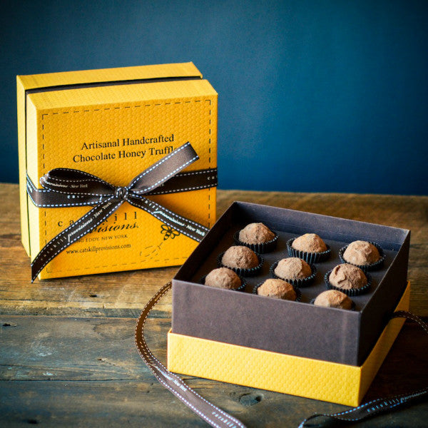 Chocolate Honey Truffles - Catskill Provisions - New York Makers