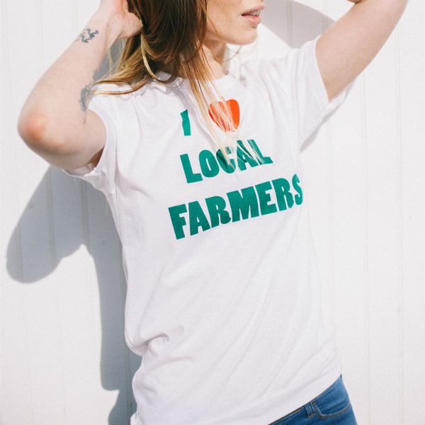 Quot I Love Local Farmers Quot Unisex Tee New York Makers