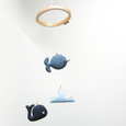 Whale and Narwhal Mobile - SimplyNu - New York Makers