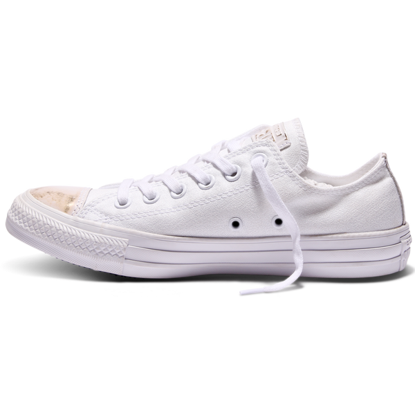 94443e560d3c Converse Women s Chuck Taylor All Star Brush Off Leather Toecap Ox