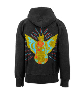 Grateful Totem Pullover Hoodie (Second Edition) (Last Edition) - S, Sale - Flight Inspired