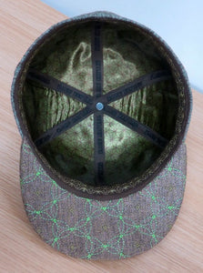 Third Eye Leaf Man (Hemp) (Forest Green / Cocoa Brown) (WILDSTYLE Edition), Hats - Flight Inspired