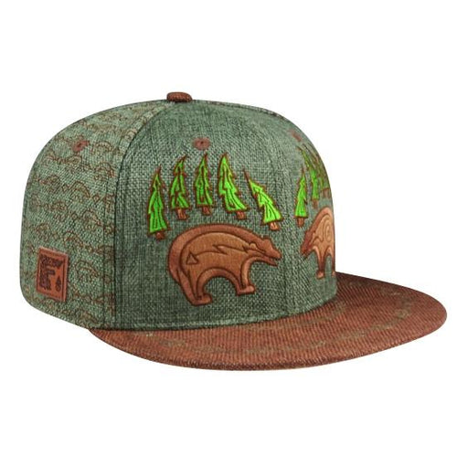 Bear Claw Hat (Hemp) (Green) (Wildstyle Edition), Hats - Flight Inspired