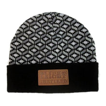 Building Blocks (Grayscale) Beanie, Hats - Flight Inspired