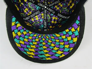 Celestial Mother (Hemp) (Purple & Teal), Hats - Flight Inspired