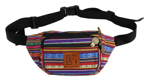 Waist Pack (Fabric) (with Secret Pocket), Bags - Flight Inspired