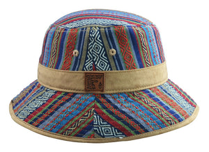 Tribal Bucket Hat (Fabric / Suede), Hats - Flight Inspired