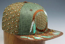 Sacred Geometry Dreamcatcher (Turquoise) (Hemp) (Wildstyle Edition), Hats - Flight Inspired