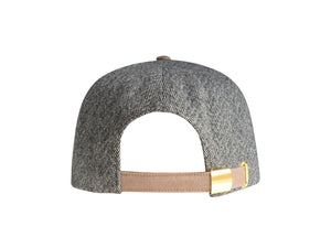 Universal Language Hat (Grey / Strapback) (Suede / Fabric)