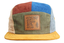 Patchwork Hat (Suede / 5-Panel / Strapback), Hats - Flight Inspired