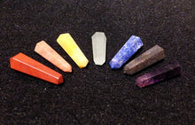 Chakra Pencil Point Set *ROYGBIV, Gemstones - Flight Inspired