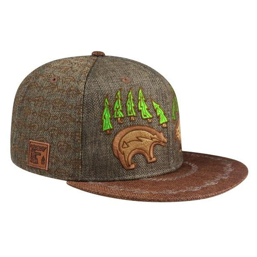 Bear Claw Hat (Hemp) (Brown) (Wildstyle Edition), Hats - Flight Inspired