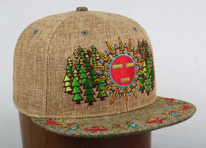 Spirit Guide (Hemp) (Green & Tan), Hats - Flight Inspired