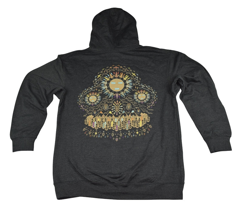 Spirit Guide (Multi-Color) (7-Color Screen Print) (Pullovers & Zip Ups) - L, XL, 3XL, Hoodies - Flight Inspired