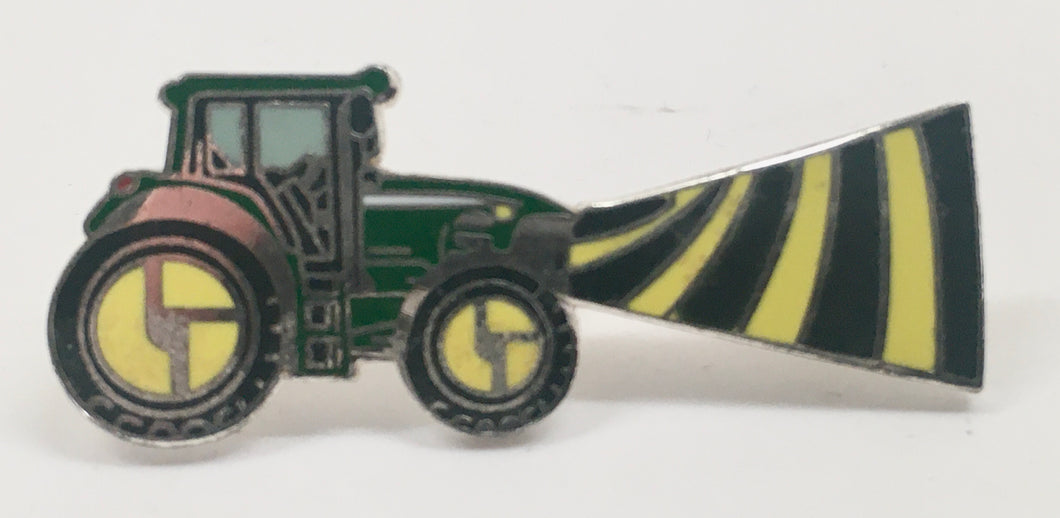 Tractorbeam Pin (Silver, Vintage 2010)