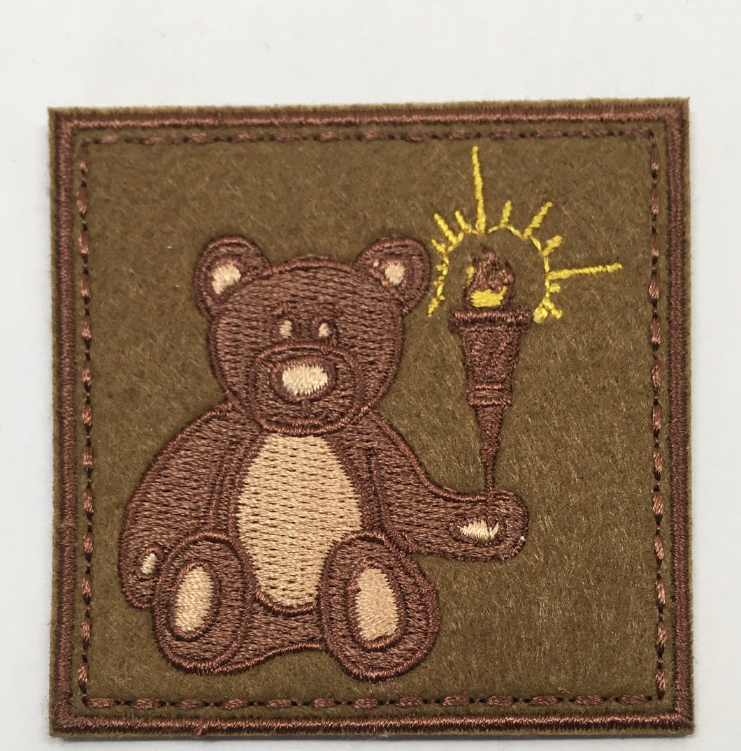 Flight Bear Patch (Original, Rare, Vintage 2015)