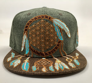 Sacred Dreamcatcher Hat (Size 7 1/2, Missing Cap Button)