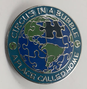 Biscuits Circus in a Bubble Pin (Silver, Vintage 2009)